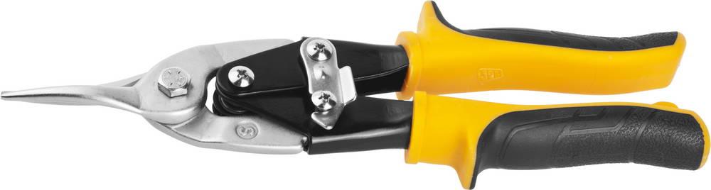 Ножницы JCB по металлу рычажные, правые, 250mm
