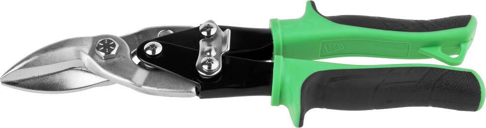 Ножницы JCB по металлу рычажные, левые, 250mm