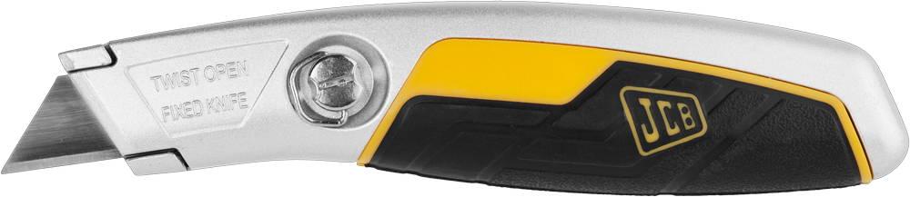 Нож JCB металлический, с трапециевидным лезвием