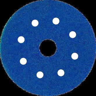 Самозацепляемые шлифовальные круги Abraflex VAD8+1 D125 P40 (розничная упаковка)
