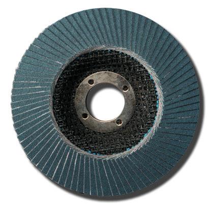 Лепестковые тарельчатые круги Abraflex FLD-10 INOX D125 P120