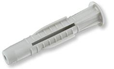 Универсальный дюбель ЕКТ 8х52 с бортом, полипропилен, 12 шт.