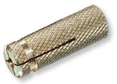Латунный распорный дюбель ЕКТ M5, 7 шт.