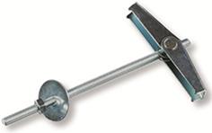 Складной пружинный дюбель ЕКТ 4х100, 2 шт.