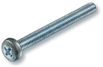Винт EKT с полуцилиндрической головкой Phillips М4х10, полная резьба DIN 7985, прочность 4,8 (16шт)
