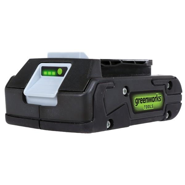 Аккумулятор Greenworks G24B2, 24V, 2 А.ч
