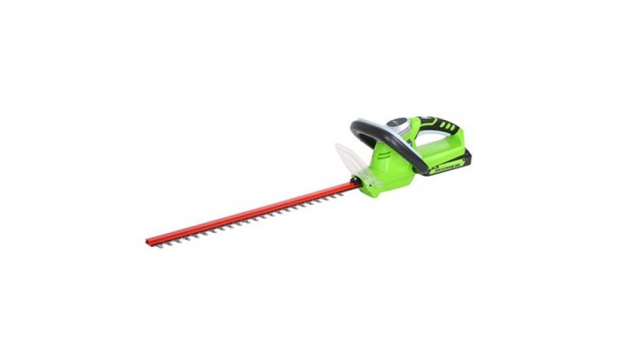 Кусторез аккумуляторный Greenworks G24HT54 Basic, 24V