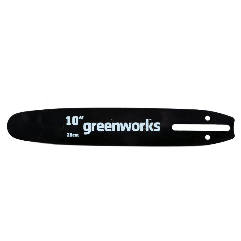 Шина пилы  Greenworks 24V 25см