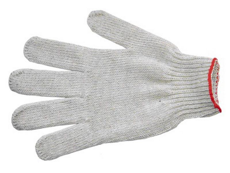 Перчатки трикотажные 4-нитка х/б 10класс