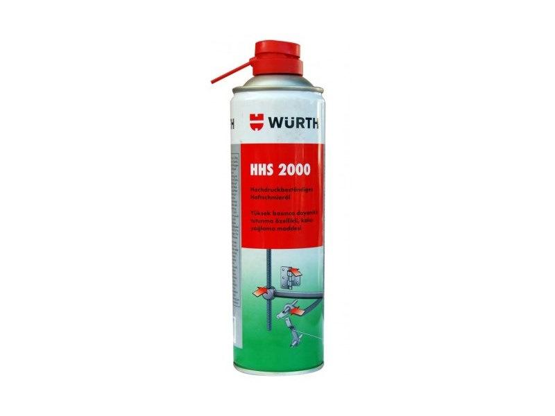 Спрей смазка Wurth HHS2000 500 МЛ