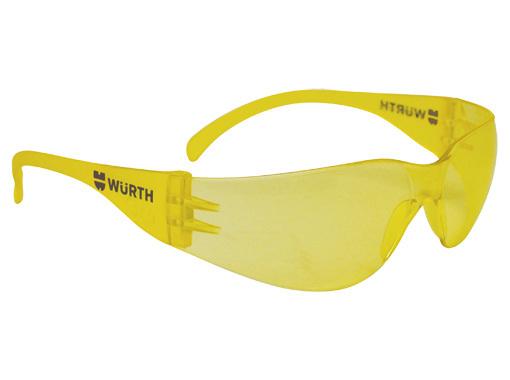Очки защитные Wurth янтарные