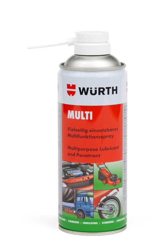 Спрей смазка  Wurth MULTI 400 МЛ